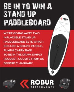 Be in to win a paddle board