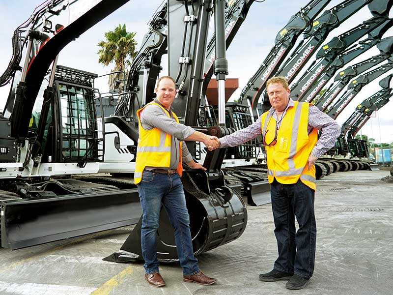 Magnum HIre customer testimonial